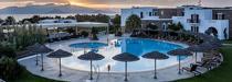 L'Aegean Land Hotel sur l'île de Naxos