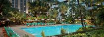 La piscine de l'Anantara Siam Bangkok