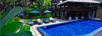 La piscine du Banthai Village