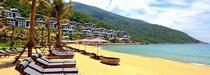 La plage de l'InterContinental Danang Sun Peninsula Resort