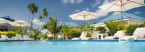 La piscine de l'Opoa Beach Hotel Raiatea