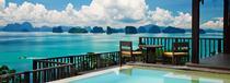 La piscine du Six Senses Yao Noi en Thaïlande