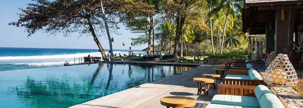 La piscine du Jeeva Klui Resort