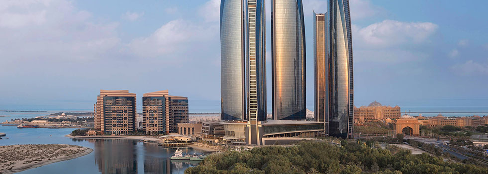 Hôtel à Abu Dhabi : Jumeirah At Etihad Towers