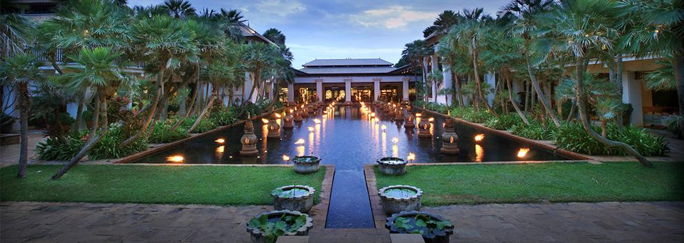 Les jardins du JW Marriott Phuket Resort