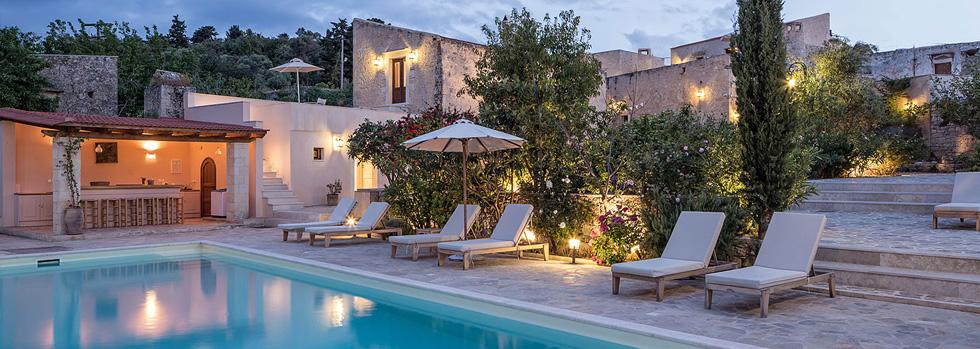 Hôtel en Crète : Kapsaliana Village Hotel