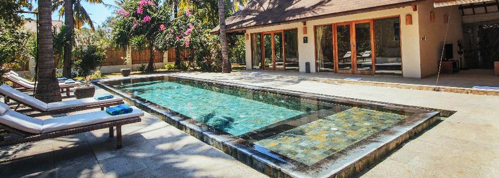 Hôtel à Gili Trawangan : Kelapa Luxury Villas