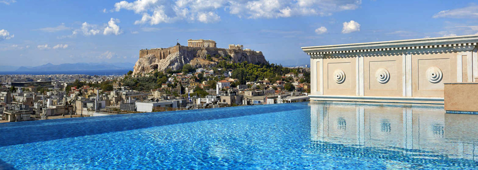 King George, A Luxury Collection Hotel, Athens  La piscine de la Penthouse Suite
