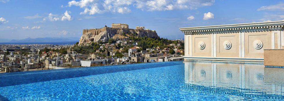 King George, A Luxury Collection Hotel, Athens  La piscine de la Penthouse Suite