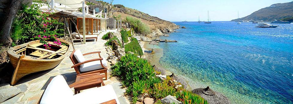 Kivotos Ornos beach Mykonos