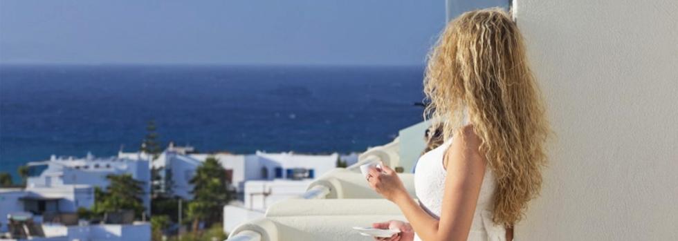 Hôtel Lagos Mare à Naxos dans les Cyclades en Grèce