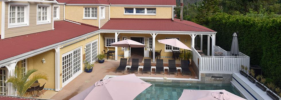 Hôtel à l'île de la Réunion : Le Cilaos