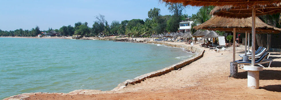 Les Bougainvillées à Saly