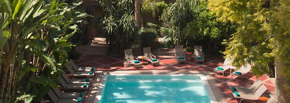 Les jardins de la m dina marrakech r servation du for Le jardin de la medina