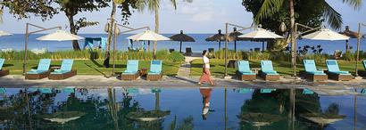 Belmond Jimbaran Puri Bali : idéalement situé au bord de la plage