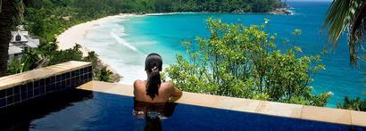 Combiné Praslin - Denis - Mahé aux Seychelles