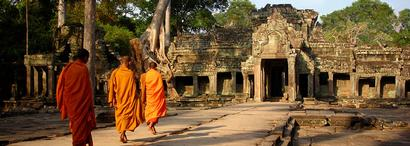 Temple d'Angkor au Cambodge