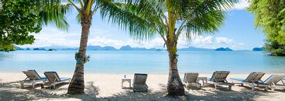 La plage du Paradise Koh Yao
