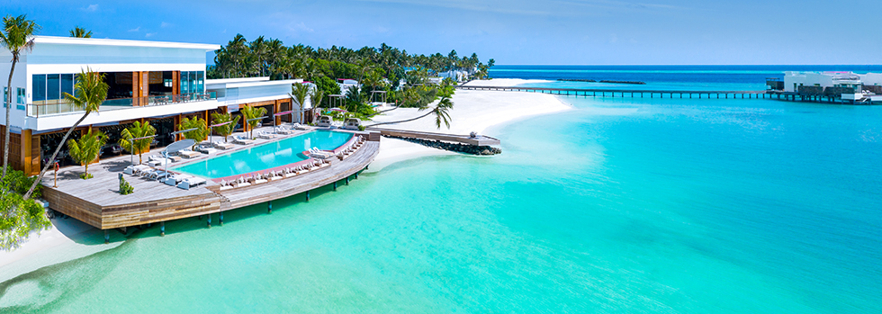 Hôtel de luxe aux Maldives : LUX* North Malé