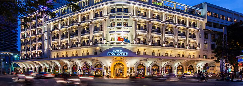 Hôtel au Vietnam : Majestic Saigon