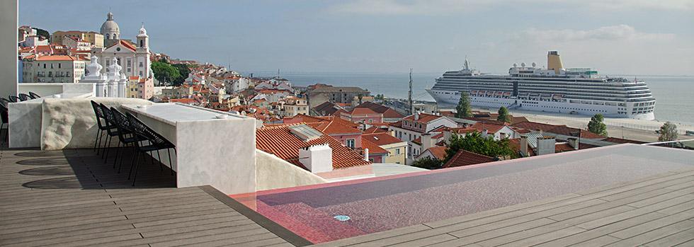 Hôtel à Lisbonne : Memmo Alfama