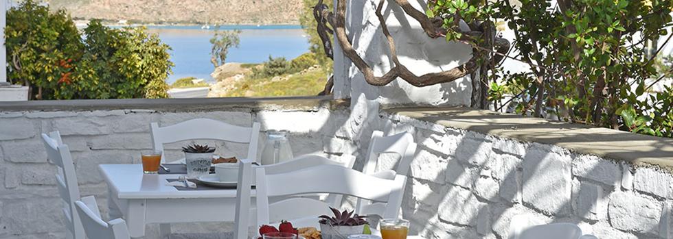 L'hôtel Mersina Exclusive à Paros