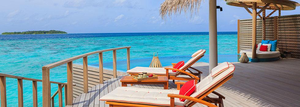 Hôtel de luxe aux Maldives : Milaidhoo Island