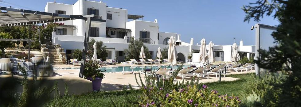 Naoussa Hills Boutique resort Grèce