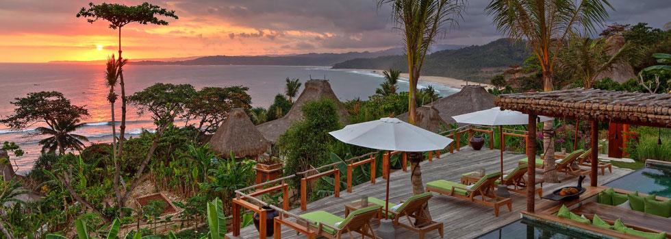Hôtel de luxe à Sumba : Nihi