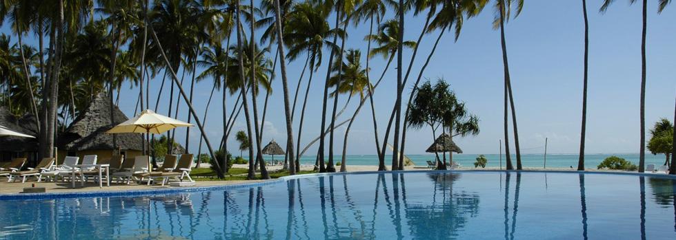 La piscine de l'Ocean Paradise