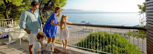 ClubMed Gregolimano sur l'île d'Eubée en Grèce