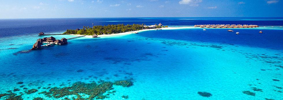Hôtel de luxe aux Maldives : Huvafen Fushi