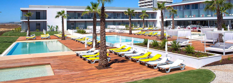 La piscine du Pestana Alvor South Beach