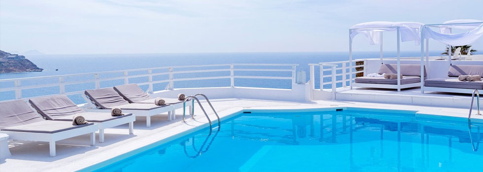 La piscine du Pietra e Mare Hotel