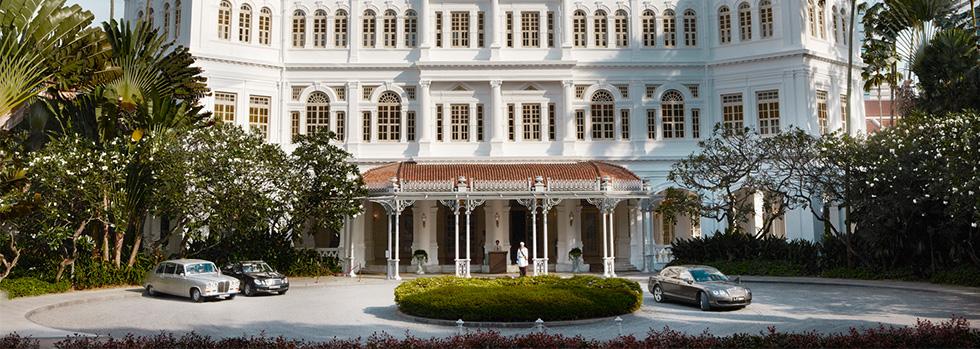 Séjour au Raffles Hotel Singapore