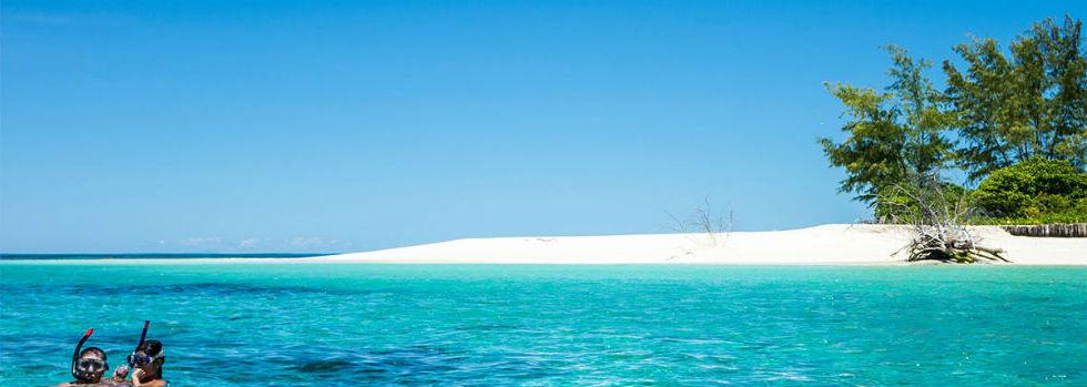 Combiné d'îles Mahé et Denis Island