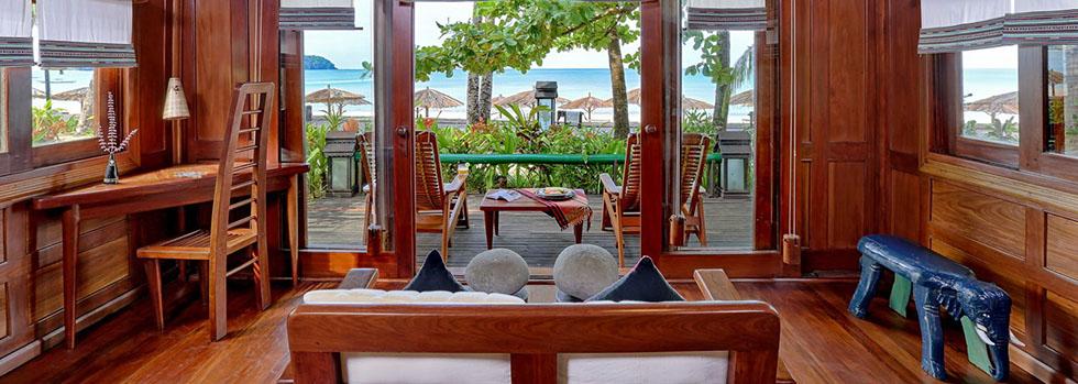 Hôtel de luxe à Ngapali : Sandoway Resort