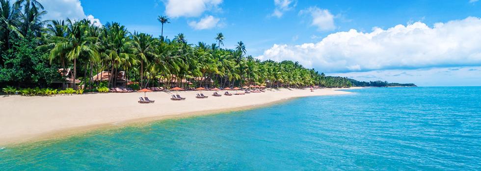 La plage du Santiburi
