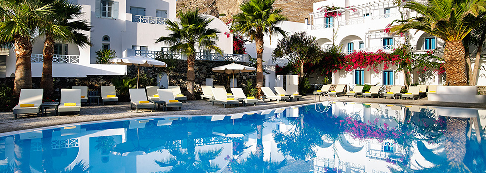 Santorini kastelli resort santorin r servation du for Meilleur hotel santorin