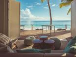 L'hotel Carana Beach propose un lounge