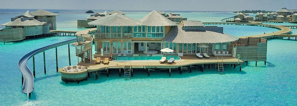 Hôtel de luxe aux Maldives : Soneva Jani