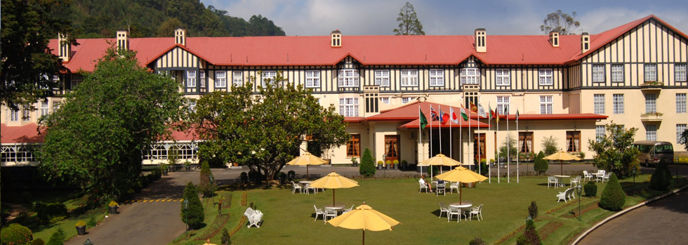 Séjour à Nuwara Eliya : The Grand Hotel