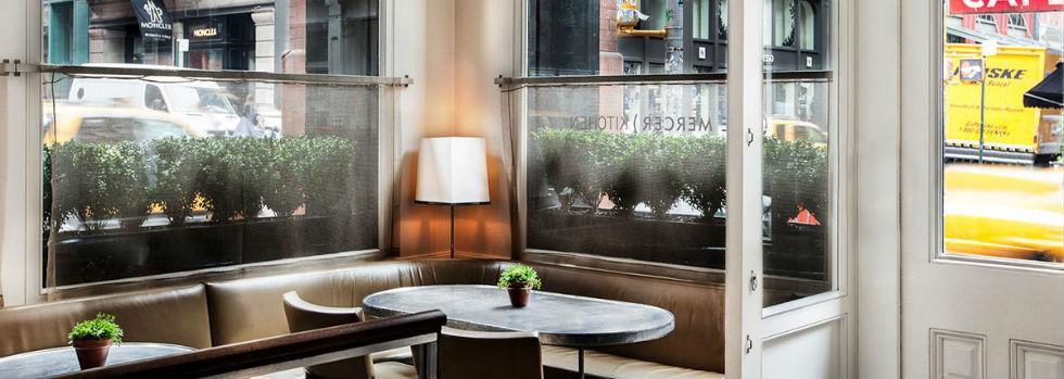 Séjour à New York : The Mercer Hotel