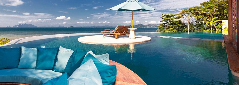 La piscine du Naka Island