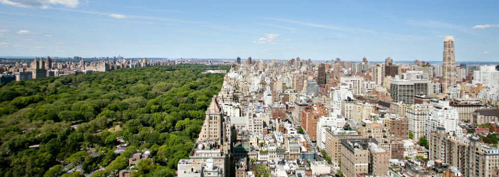 View de New York depuis l'hôtel The Pierre