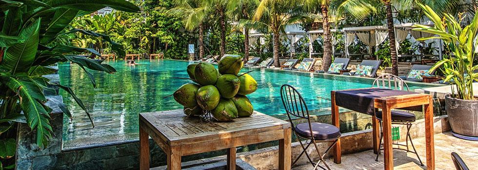 Séjour à Phnom Penh : The Plantation Urban Resort and Spa