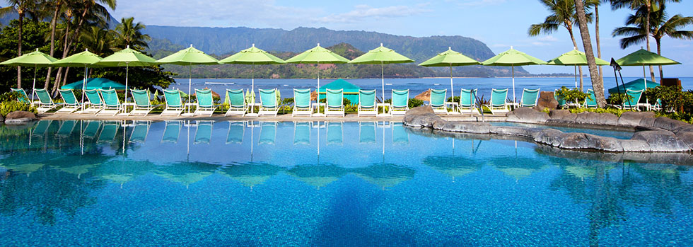 Hôtel de luxe à Hawaii : The St. Regis Princeville Resort