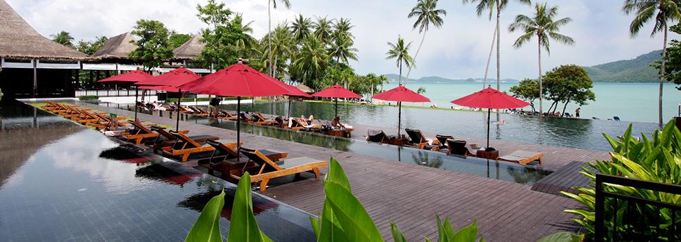 La piscine du Vijitt Resort Phuket