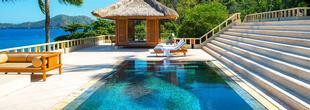 Hôtel Amankila à Candidasa : des suites à la décoration typique de Bali