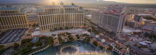 Hôtel Bellagio sur le Strip de Las Vegas